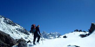 Andinismo en invierno en Mendoza