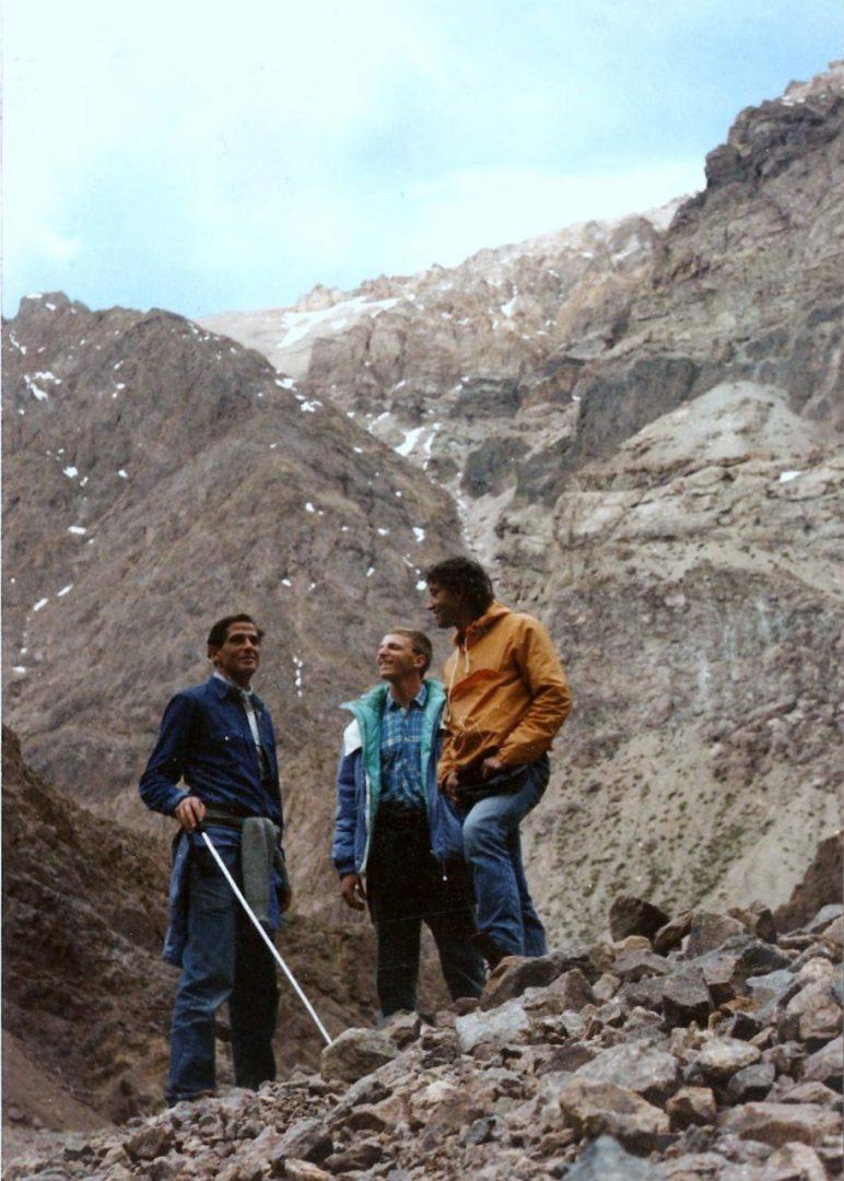 Los protagonistas de la historia: Carlos Giuffré, Favio Torressi y Patán Purpora. (Foto: Purpora)