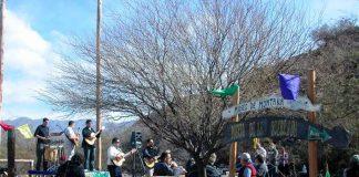 El encuentro se realizó en Puerta de la Quebrada.