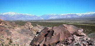 Valle de Uspallata, Las Heras