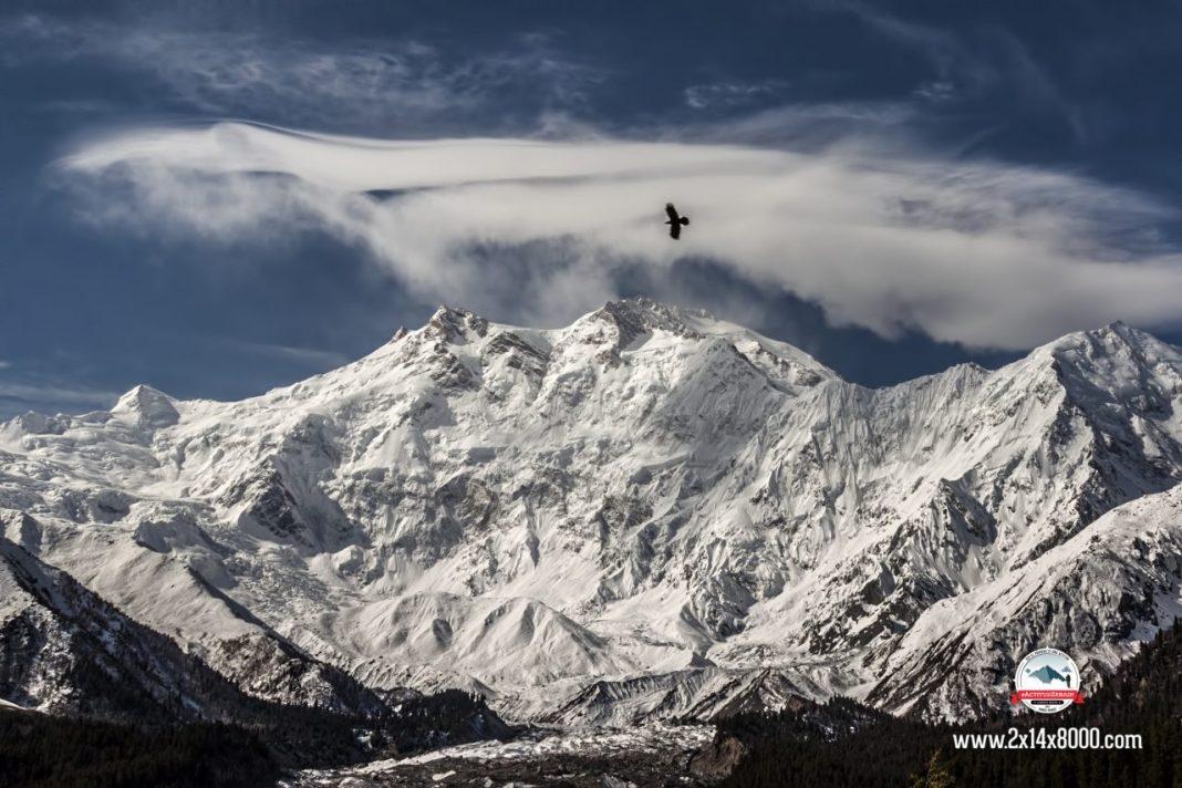 Nanga Parbat, 8.125 metros, novena cima más alta del mundo.