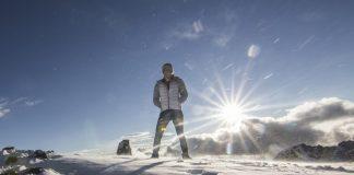 La alpinista Sunny Stroeer (32) logró una notable marca en Aconcagua. Foto: Sunny Stroeer, Mountain Hardwear athlete.