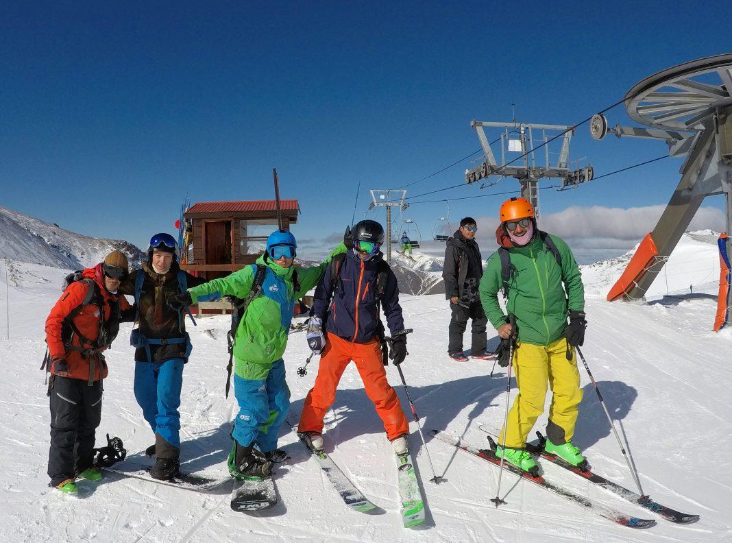 Los cuyanos y suizos en el centro de ski La Hoya, Esquel, Chubut. (Foto: Fotón Producciones)