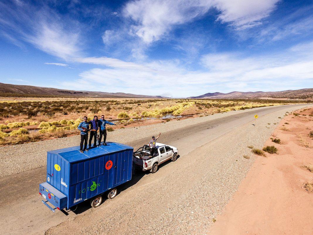 Un alto en la más clásica de las rutas patagónicas: la 40.