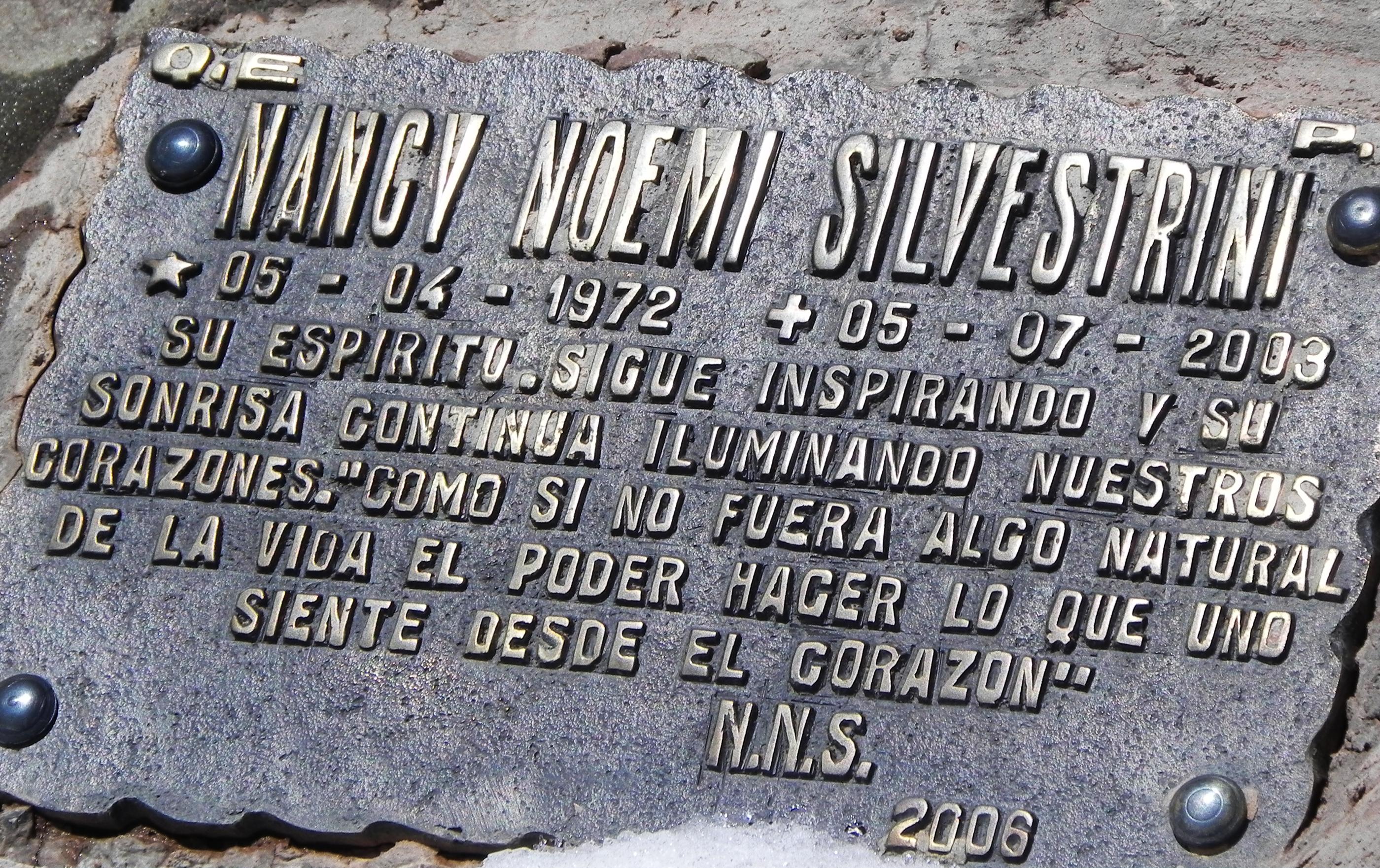 Sus restos yacen aún en el Himalaya. Una placa en el Cementerio de Andinistas, Puente del Inca, honra su memoria.
