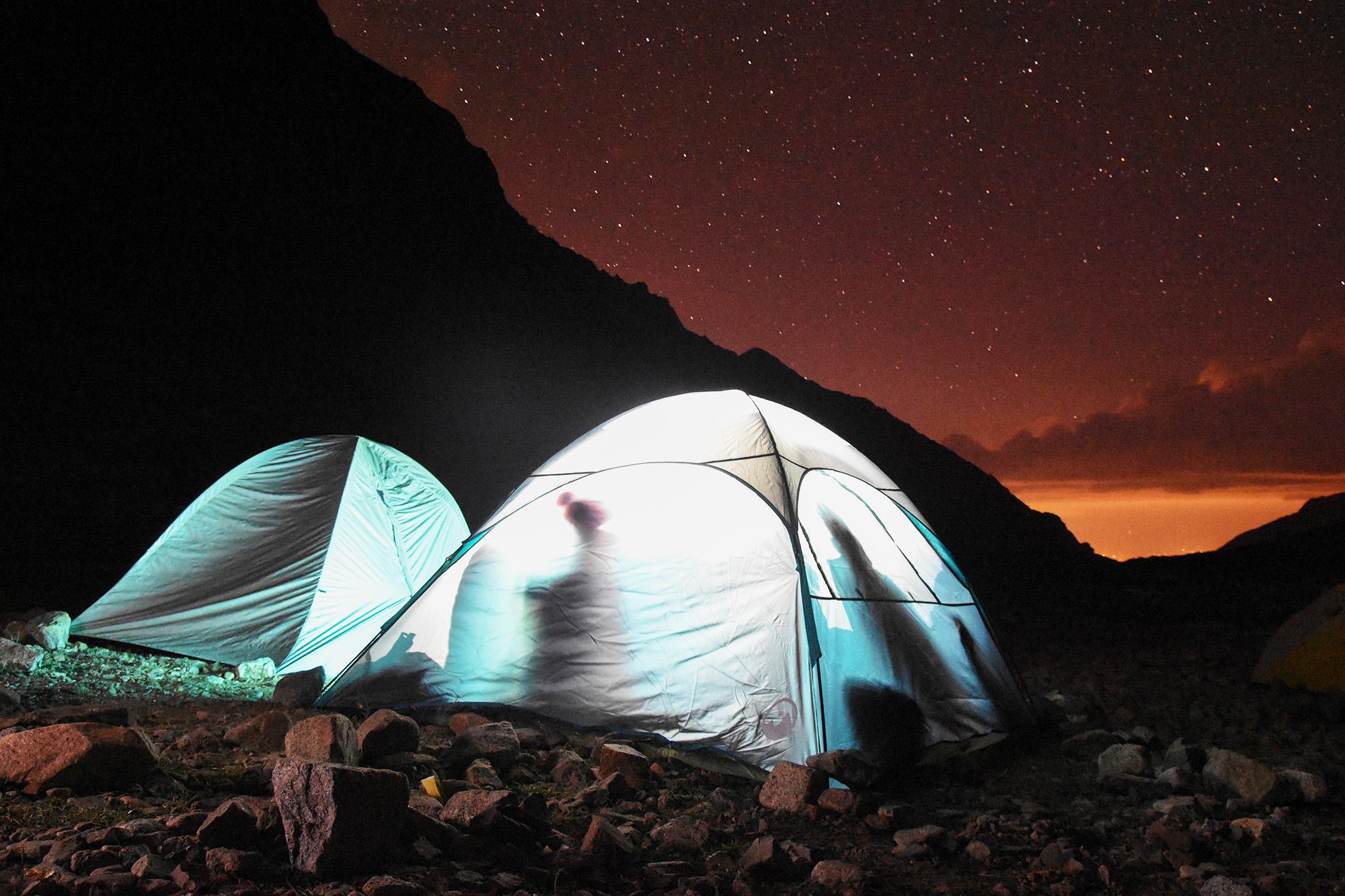 Noches estrelladas en plena cordillera. Un lujo del Cruce de los Andes. (Ph Andrómeda agencia)