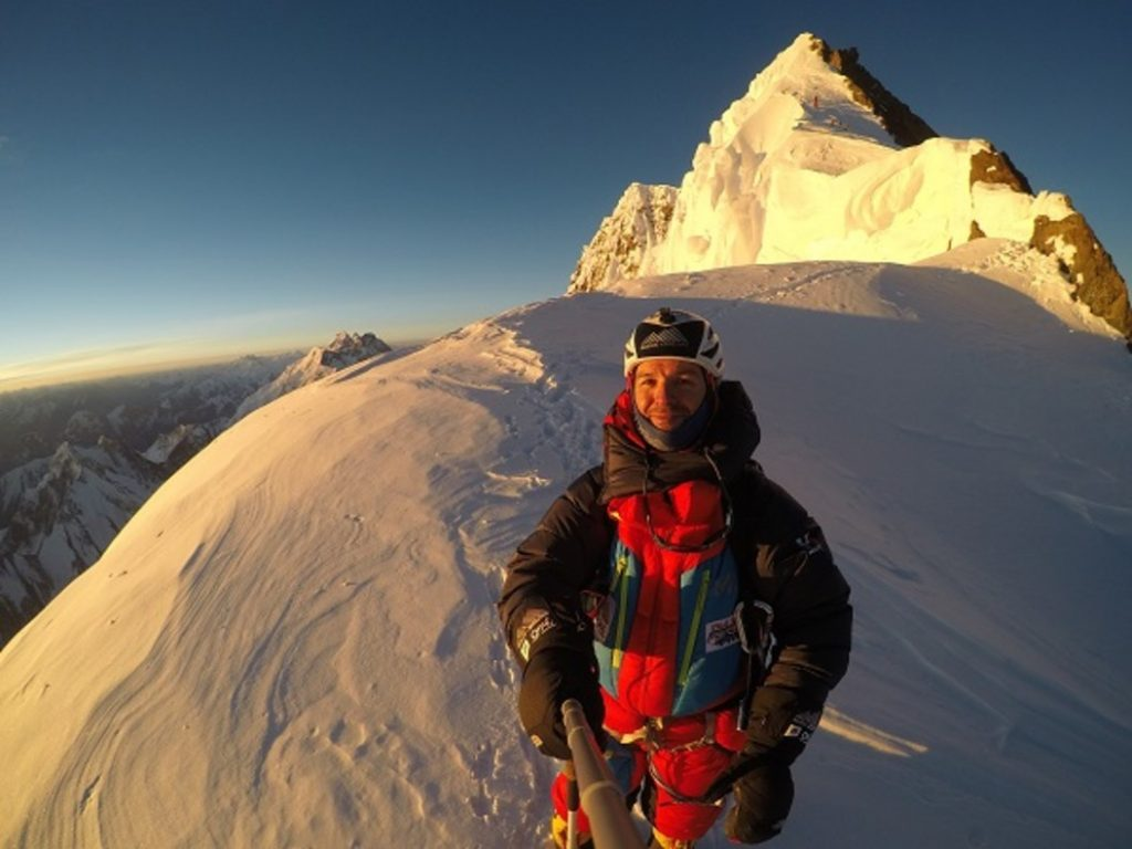 El catalán Sergi Mingote en el K2. Esta vez va en invierno.