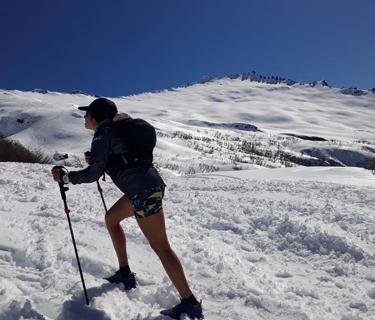 Sonia tiene el entrenamiento y la experiencia necesaria para batir el récord en Aconcagua.