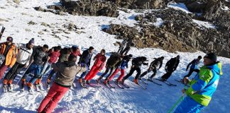 """""""Let's Ski Together"""", el proyecto de Nico Valsesia para los chicos de Marruecos."""