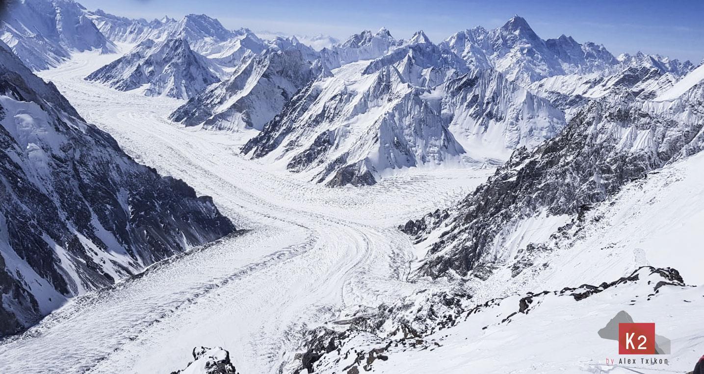 K2 invernal sigue siendo imposible. Alex Txikón y su equipo se bajaron.
