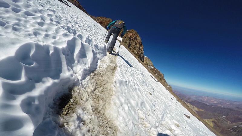 La temporada de Aconcagua concluyó con la cumbre en el día en muy buen tiempo.