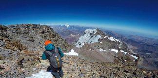 Última cumbre de la temporada de Aconcagua.