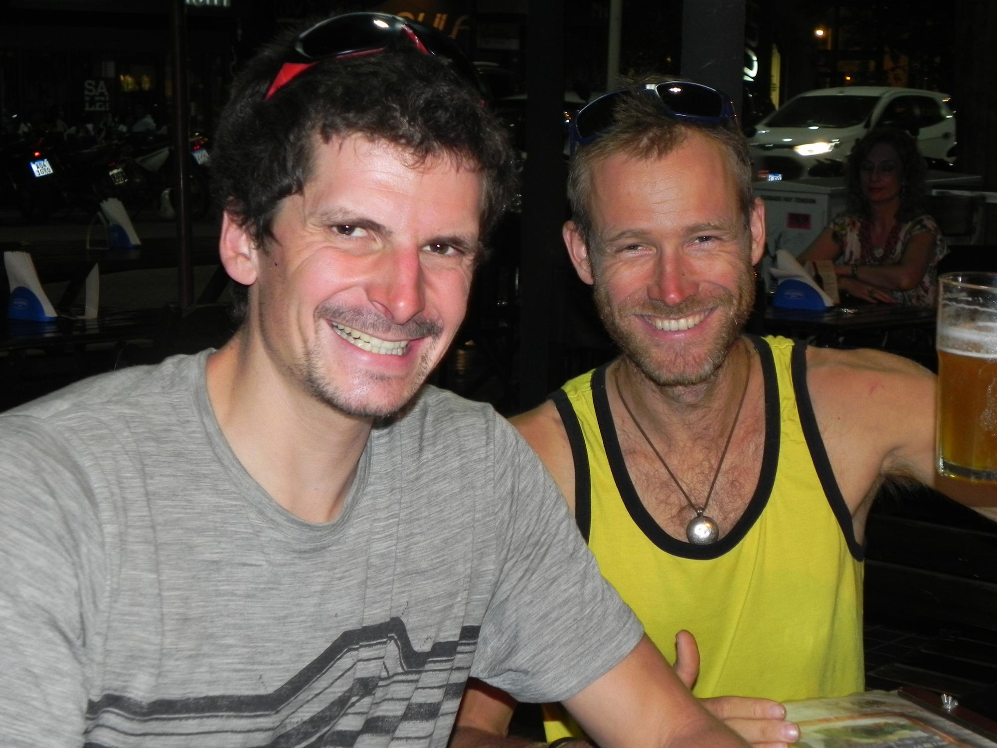 Jean-Baptiste Chandesris (29), francés y Gabriel Mazur (39) checo.
