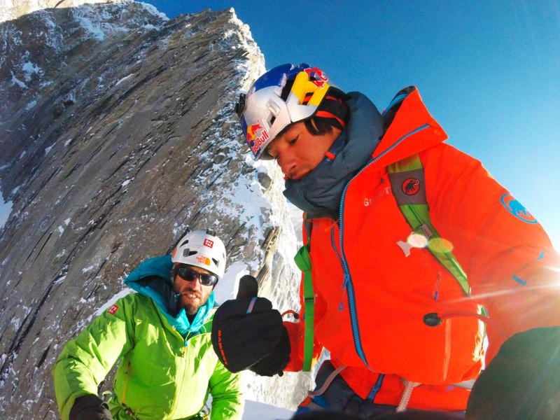 Los alpinistas austriacos David Lama y Hansjörg Auer están desaparecidos bajo una avalancha