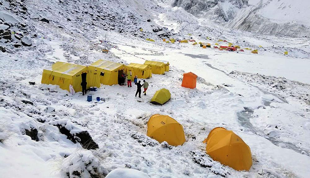 Campo IV, Annapurna. PH: Nima Gyalzen Sherpa