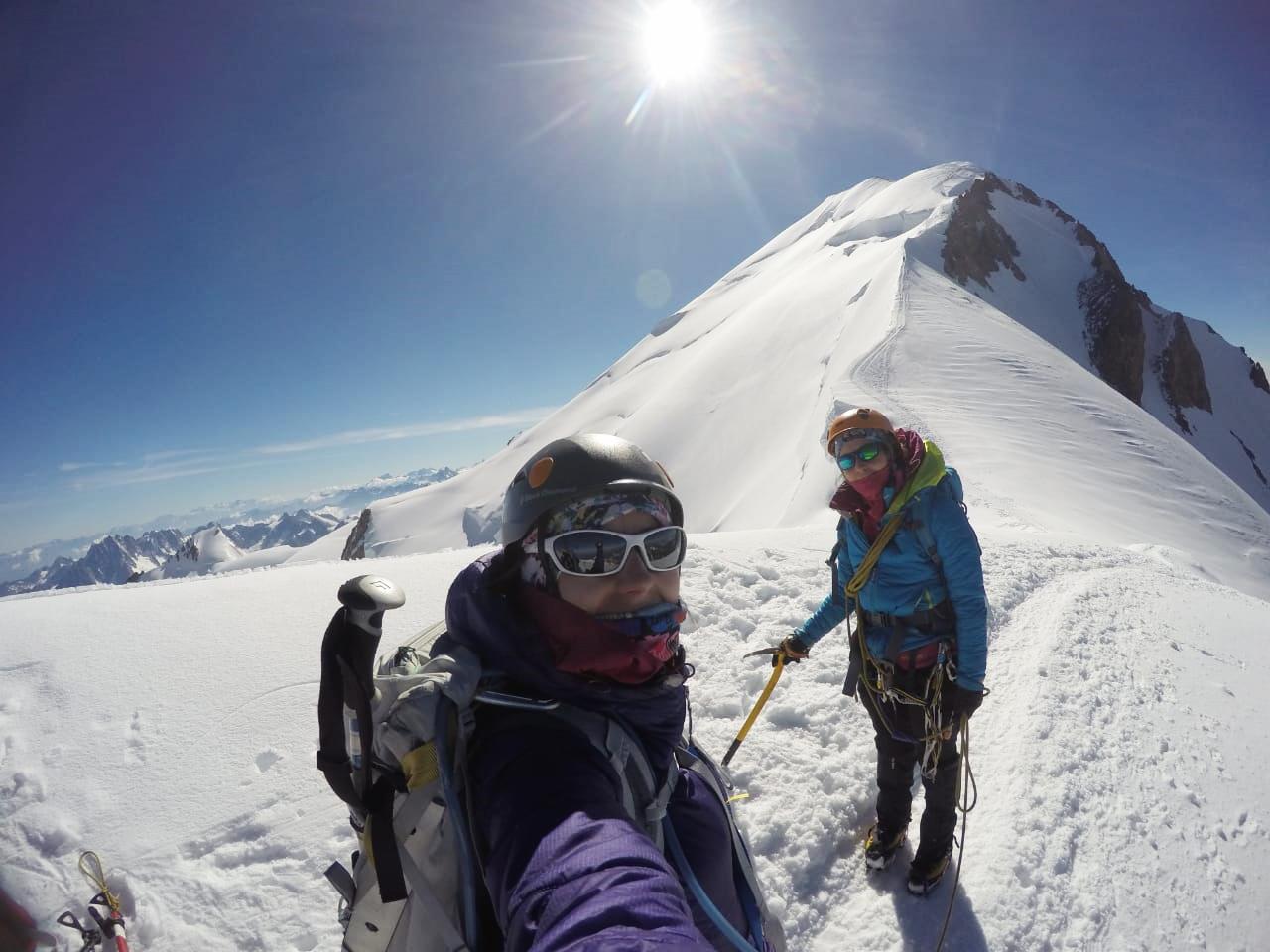 Gonzalo y Magui juntos trabajan en su micoroempresa Adventure Andes.
