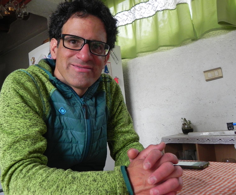 Niko Agüero, el héroe del rescate nocturno en Aconcagua.