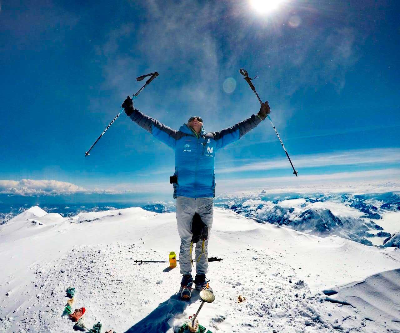 Karl Egloff y un logro más en su impresionante carrera deportiva: Denali