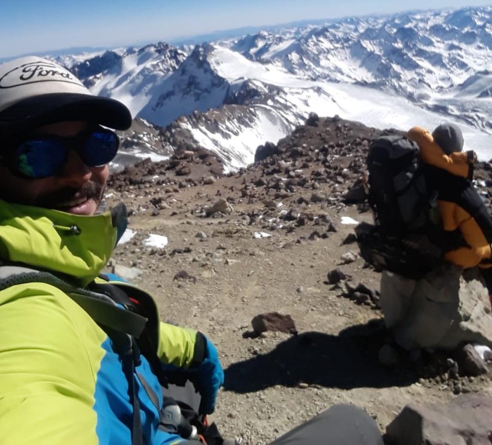 La montaña puso condiciones. La expedición llegó a su fin en el Filo del Guanaco.