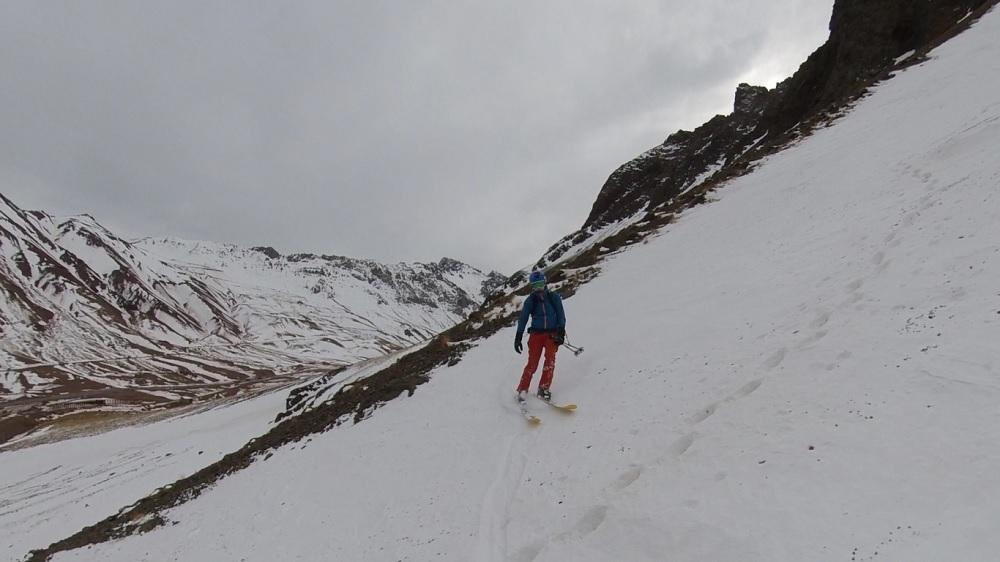 Xavier prefiere el ski, Olivier el snowboard.