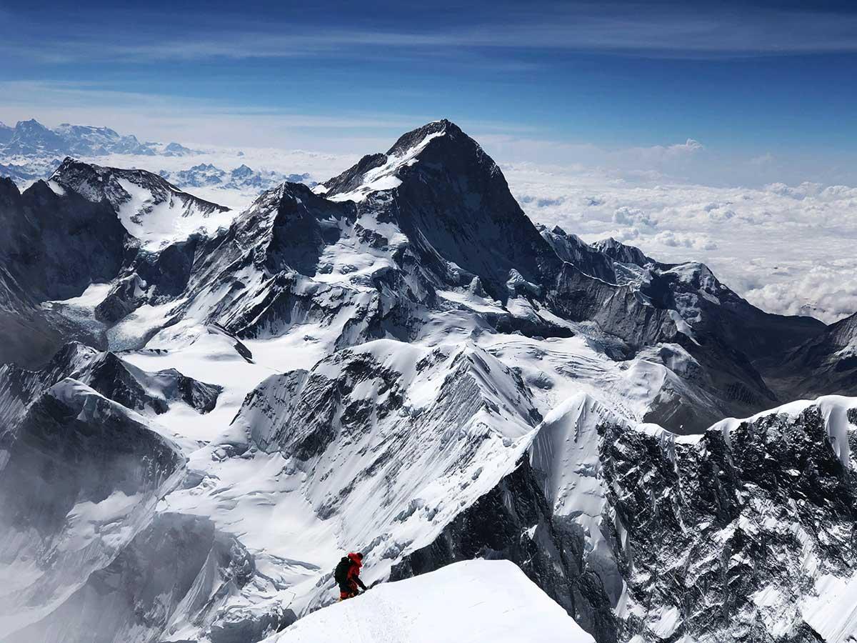 Tomás Ceppi en Everest.
