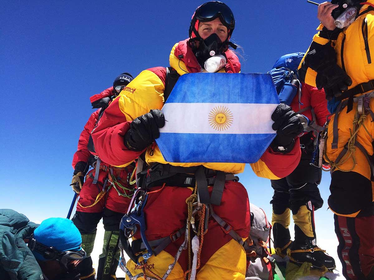 Laly Ulehla y su reto mayor, Everest, la más alta de las Seven Summits y del mundo.
