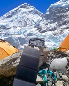 SOLAR7 fue testeado nada menos que en Everest, con resultado óptimo.