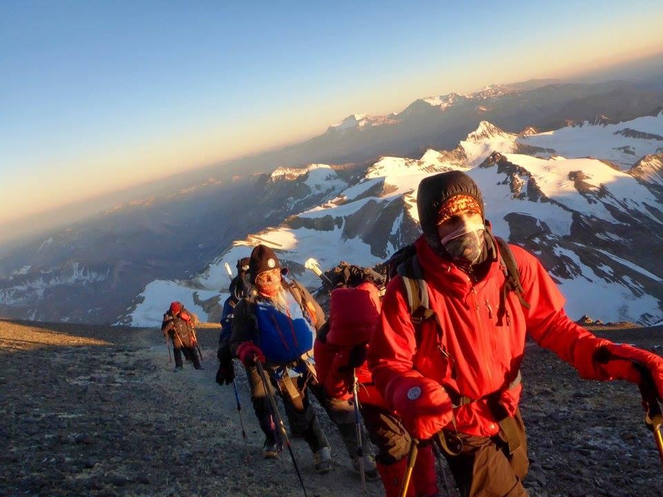 Algunos consejos de Julián Insarralde para subir el Aconcagua.