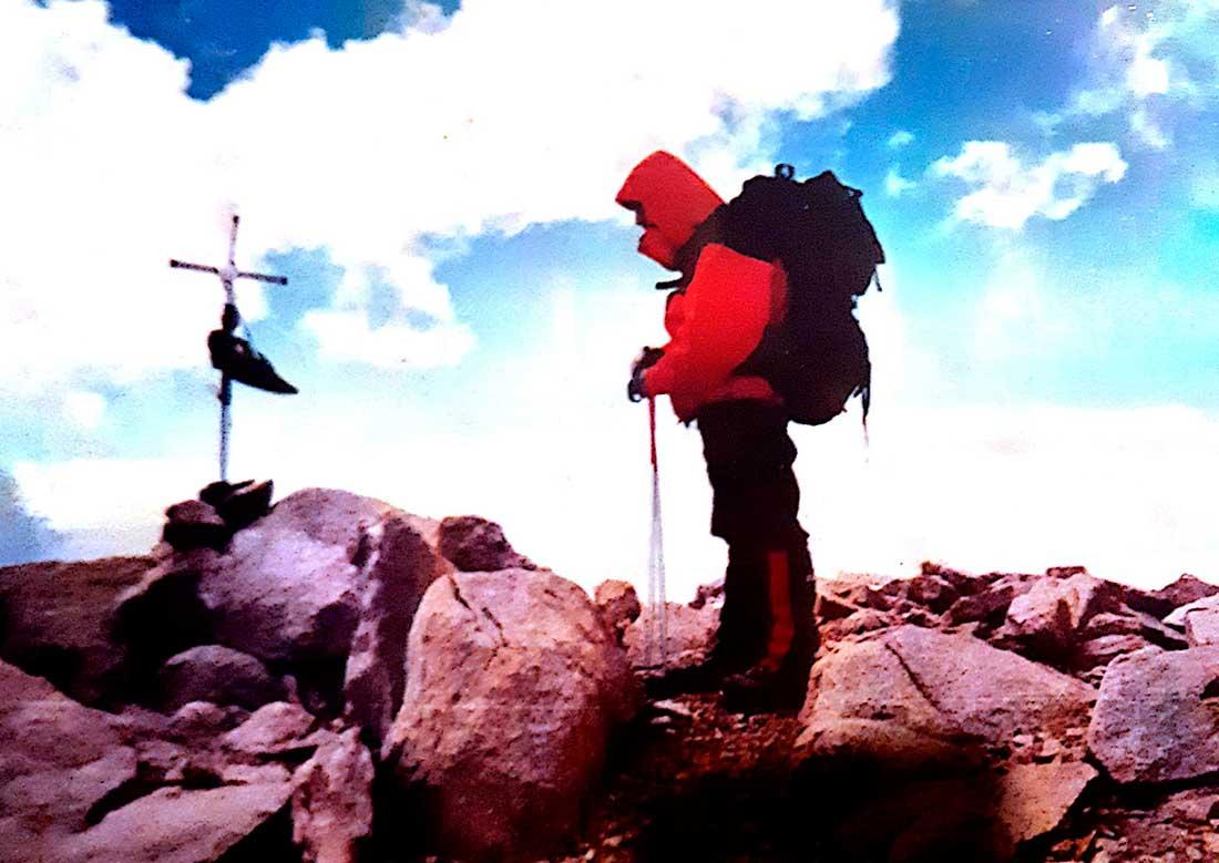 Objetivo cumplido: cumbre del Gral. Belgrano, Sierras del Famatina.