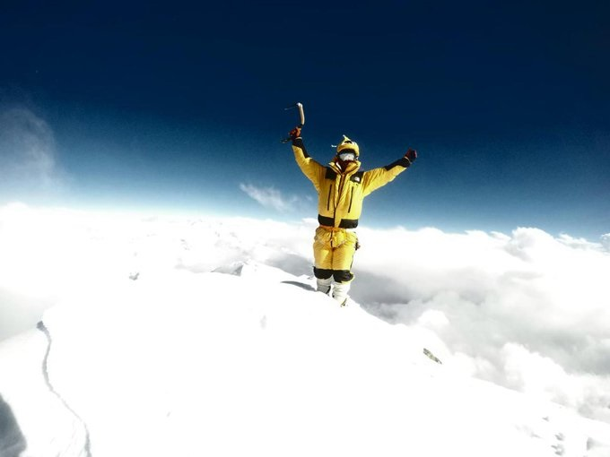 El proyecto de Juan Pablo Mohr es subir los 14 ochomiles en estilo alpino.
