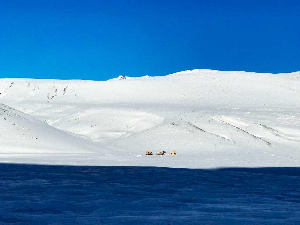 El Azufre está proyectado en un sitio con inmejorable cantidad y calidad de nieve.