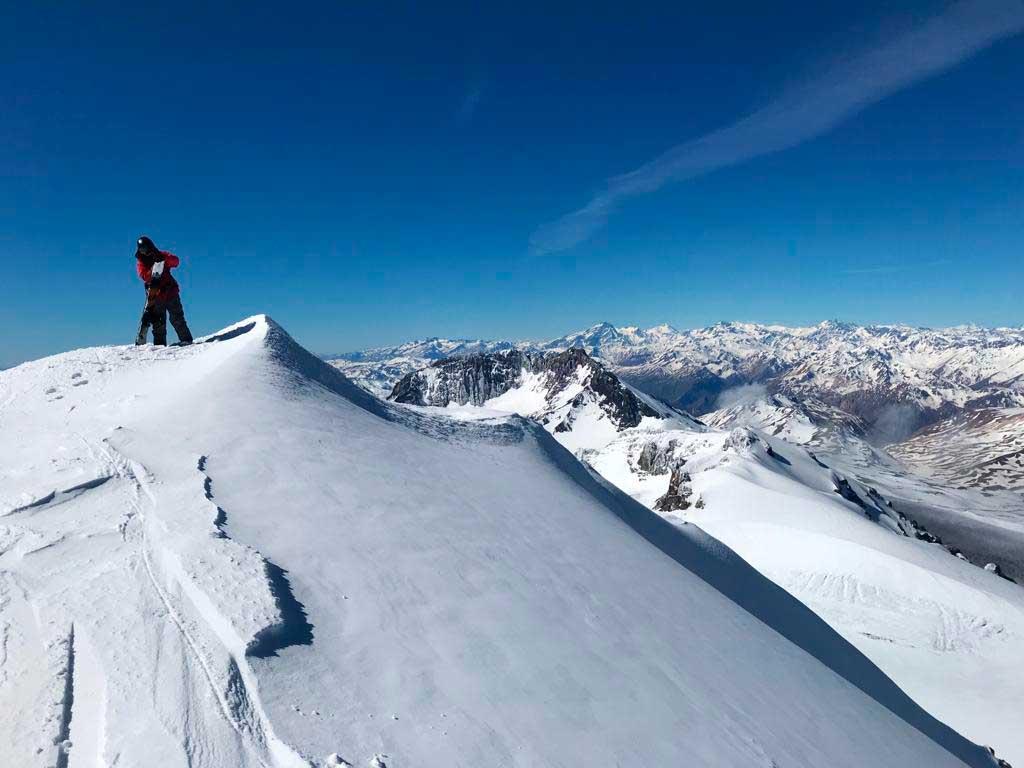 En El Azufre habrá sectores de dificultad baja e intermedia, y sectores para practicar ski fuera de pista.