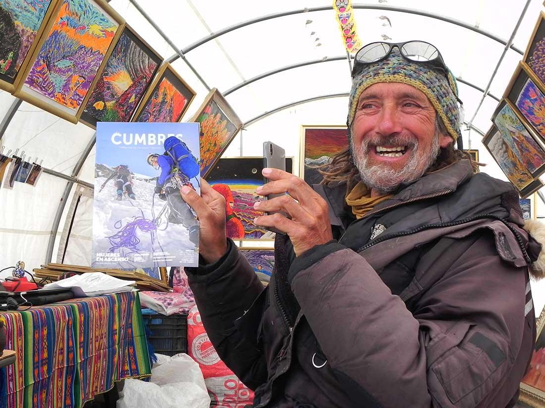 Miguel Doura recibió a Cumbres. A plena sonrisa y con su hospitalidad acostumbrada.