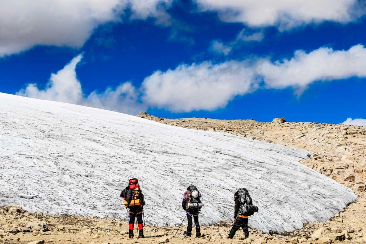 El glaciar Quelccaya, masa helada tropical más grande del mundo. Ph Stéphane Vallin.