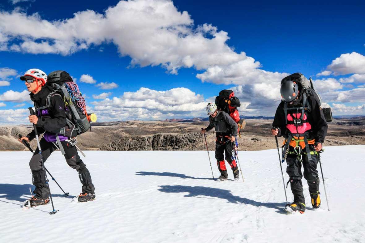 La reciente expedición realizada en el verano altiplánico. Ph Stéphane Vallin.
