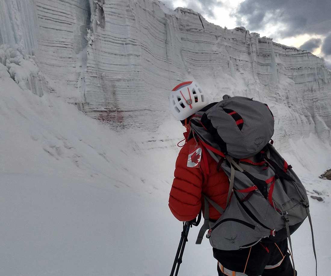 Durante la expedición invernal los exploradores constataron un notable retroceso en el glaciar Quelccaya.