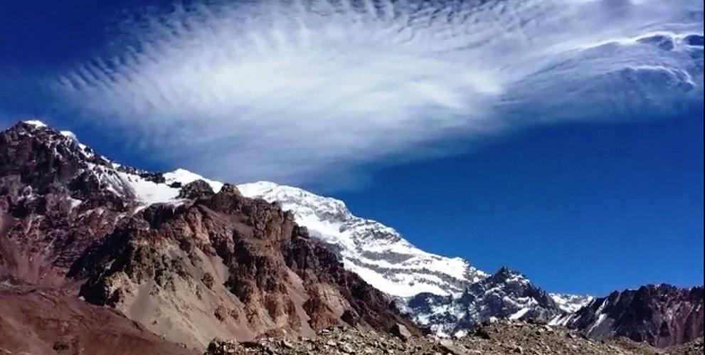 Cima del Aconcagua.