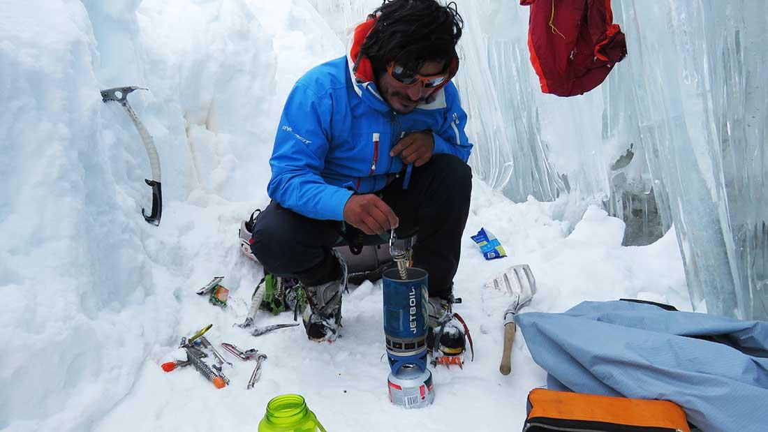 Víctor Rimac, conocedor de todos los aspectos de la montaña.