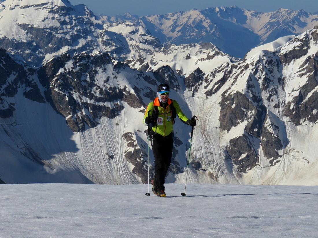 Nico Valsesia también completó el desafío From 0 to Elbrus.