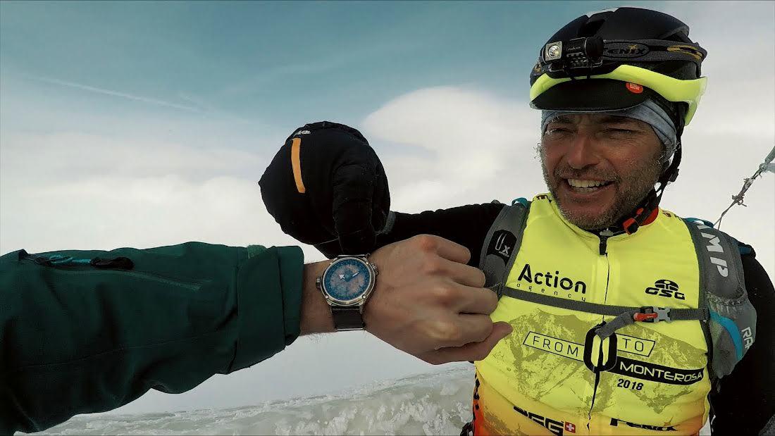 El espíritu de Nico Valsesia es correr los límites del rendimiento físico. Los tiempos y marcas son una consecuencia.