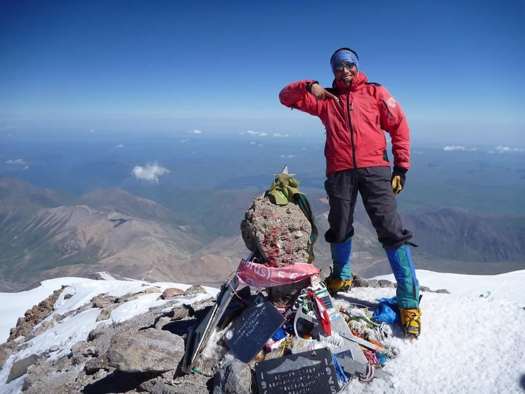 Oswaldo Freire es uno de los referentes del montañismo sudamericano actual.