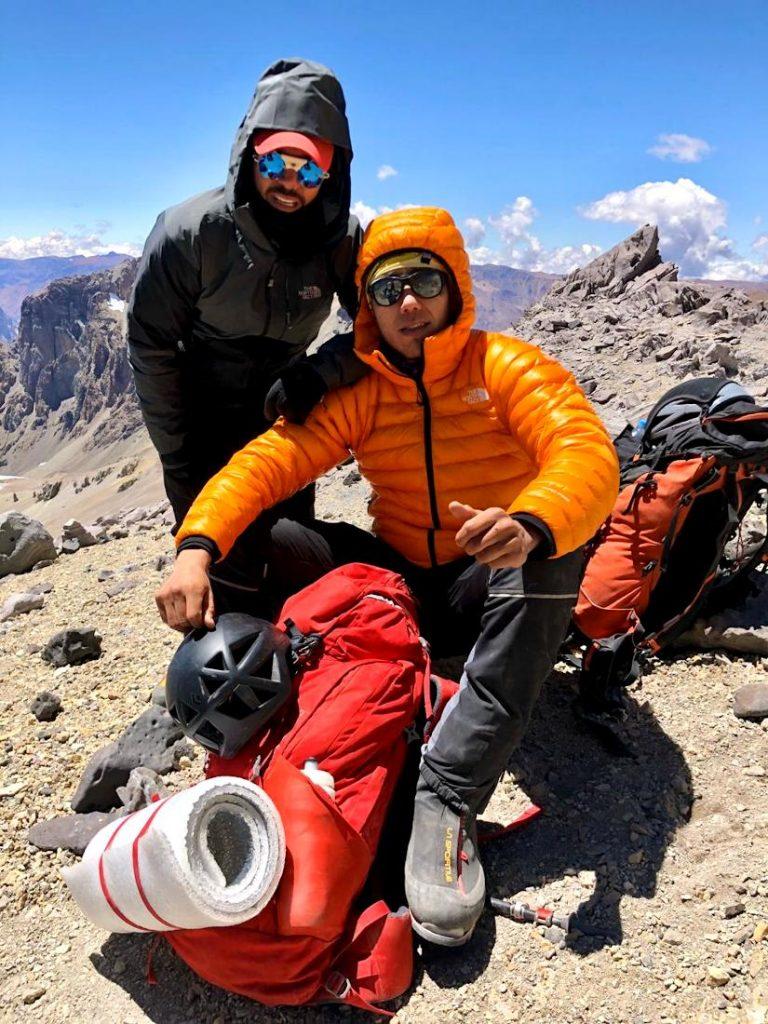 Omar Álvarez y Rafa Jaime son los protagonistas del proyecto Cordada a Obscuras que ya logró el primer objetivo: Aconcagua.