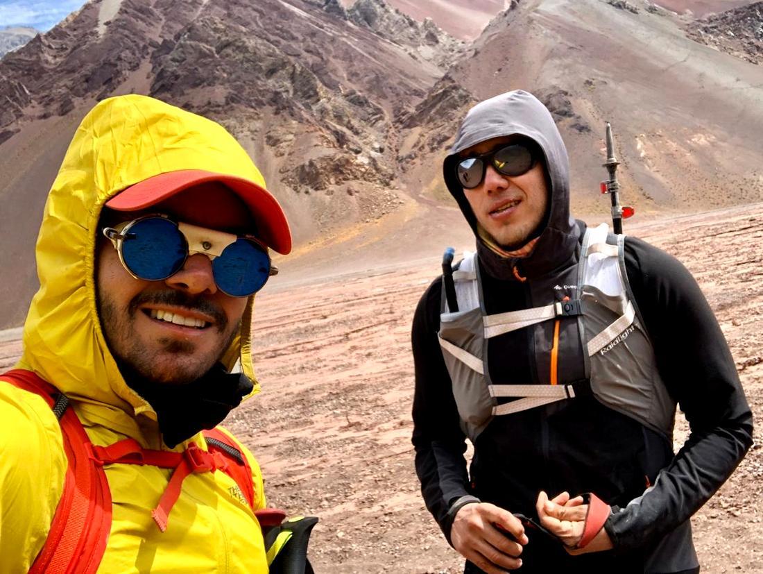 El proyecto Cordada a Obscuras prevé el ascenso de Rafa a las Seven Summits.
