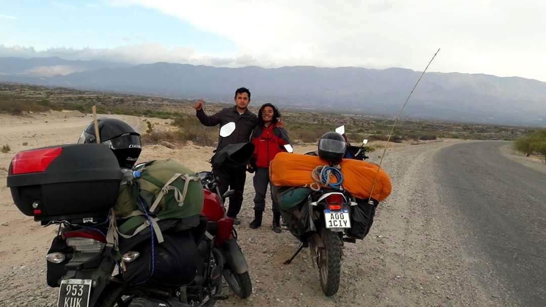 Más de un mes en la ruta para llegar a Ushuaia, próximo destino de Serafín y sus sueños.
