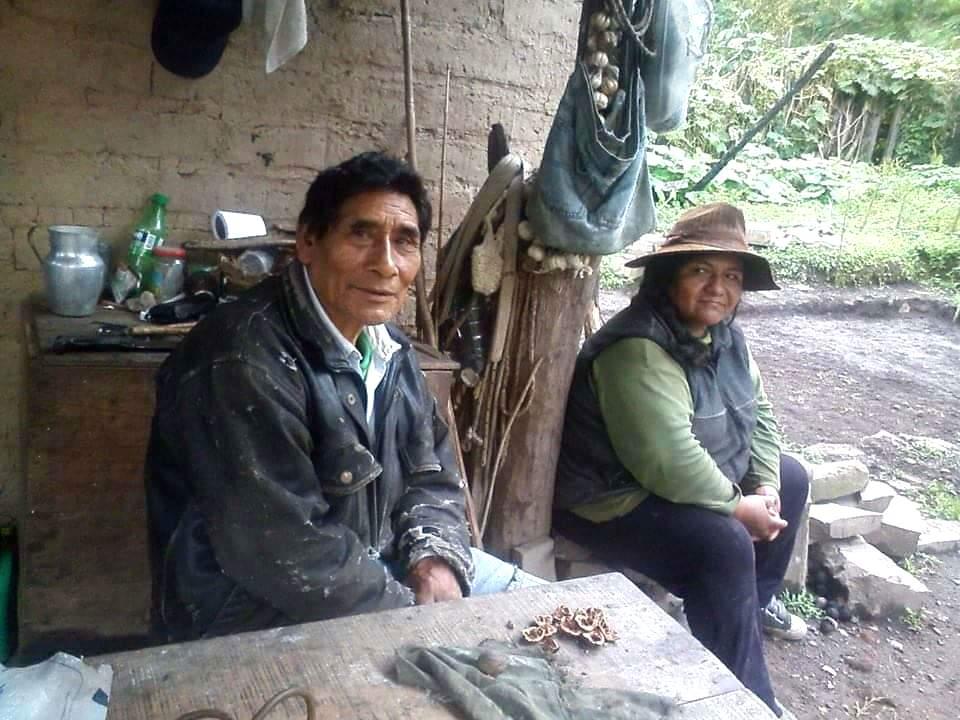 Luis y Albina, los padres de Serafín