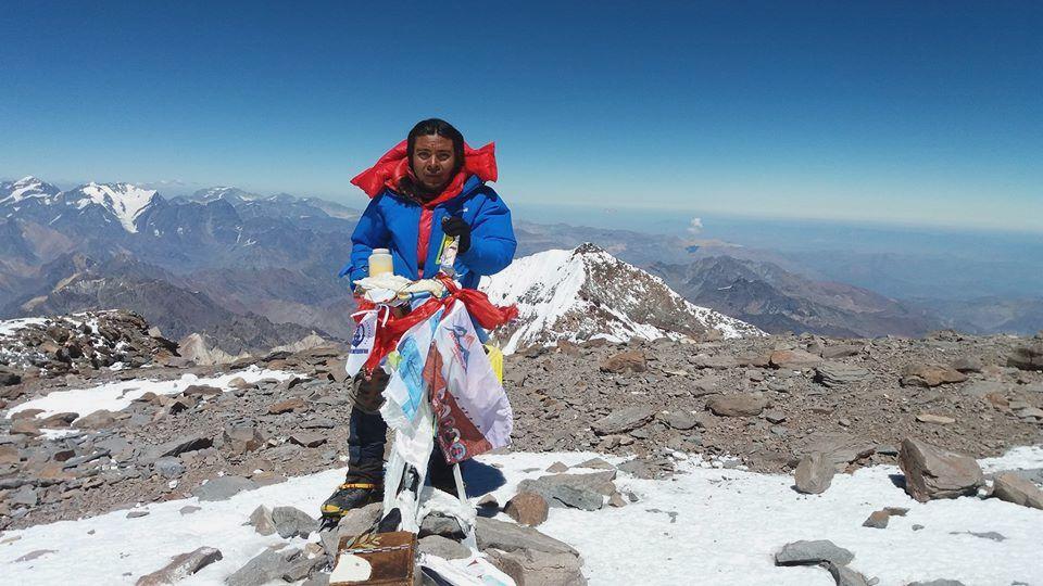 Un sueño impensado que se cumplió en poco tiempo: cumbre en Aconcagua.