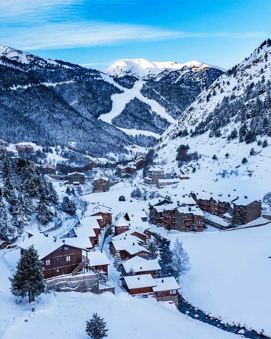 Grandvalira, Andorra.