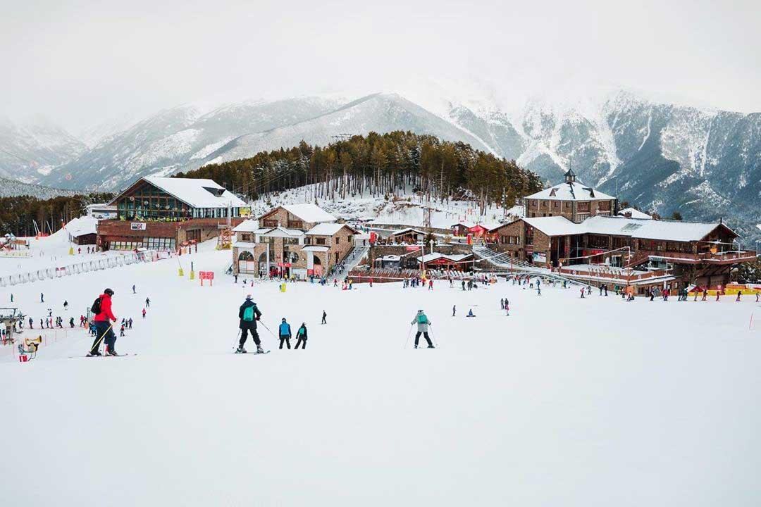 Vallnord Pal- Arinsal, una de las principales estaciones de ski en Andorra.