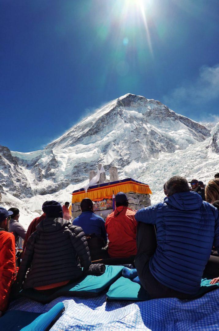 Himalaya conquistó para siempre a Fahad Badar. En la misma expedición logró cumbre en Lhotse y Everest.