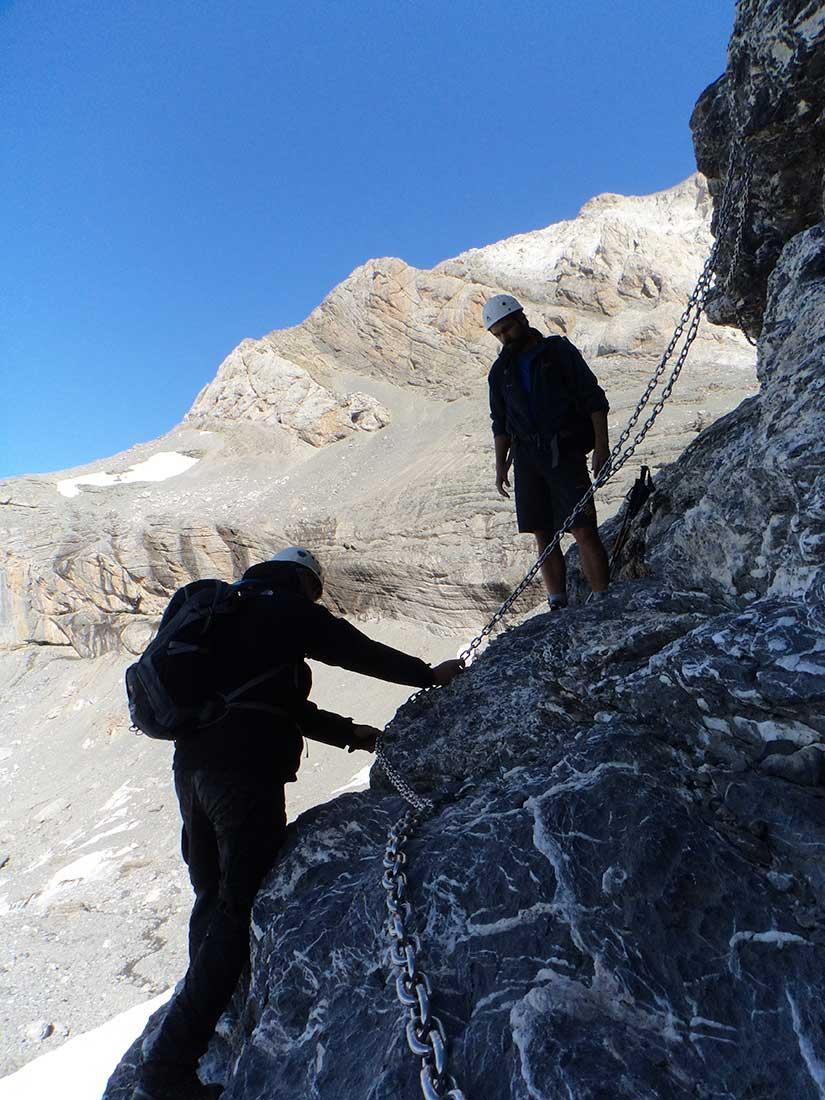 Una salida algo más técnica al monte Perdido, en los Pirineos españoles.